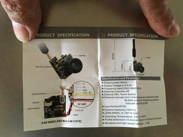 Incluye manual de usuario