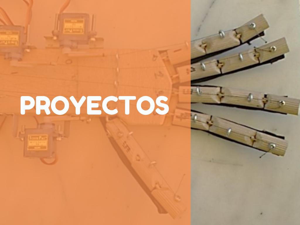 Índice proyectos