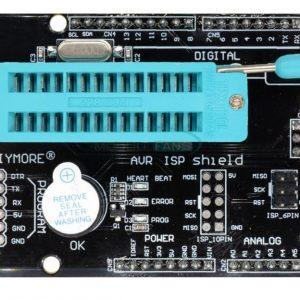 Imagen superior del shield ISP AVR