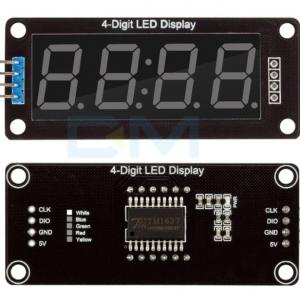 Display 4 digitos