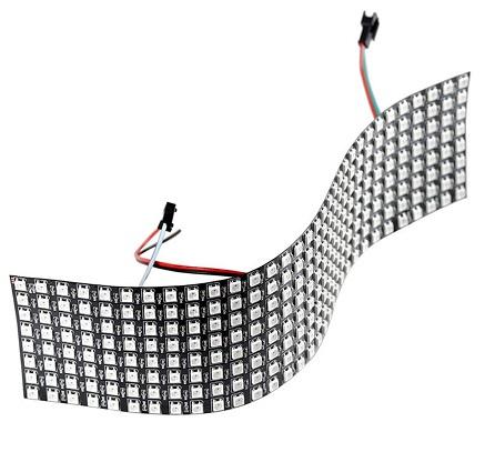 Panel flexible 32x8 Neopixel